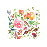 Nouveau Boheme No. 2 Giclee Print by Kiana Mosley