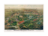 Tennessee Centennial Exposition, Nashville, 1897 Giclee Print by  Henderson Litho Co.