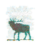 Elk Giclee Print by Teofilo Olivieri