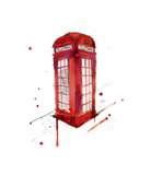 London's Calling Giclee Print by Jessica Durrant