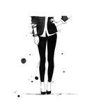 The Year of the Jegging Giclee Print by Jessica Durrant
