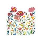 Nouveau Boheme - Wildflower Garden Giclee Print by Kiana Mosley