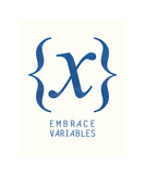 Embrace Variables Giclee Print by  Urban Cricket