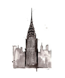 Chrysler NYC Giclee Print by Jessica Durrant