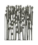 We - Minimalist Ink Series Reproduction procédé giclée par Kiana Mosley