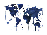 It's a Blue Blue World Giclee Print by Jessica Durrant