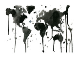 It's a Black and White World Giclee Print by Jessica Durrant