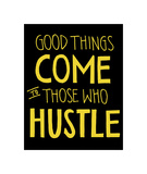 Hustle Giclee Print by  Urban Cricket