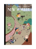 The New Yorker Cover - February 15, 2010 Regular Giclee Print by Ivan Brunetti