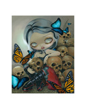 Butterflies and Bones Posters by Jasmine Becket-Griffith
