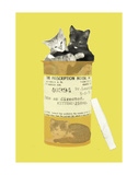Kitten Prescription Posters by Jason Laurits