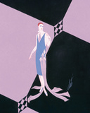 Evening Dresses and Curtains II Posters by  Erté