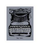 Tap That Giclee Print by  Urban Cricket