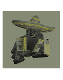 Drunk Cat Prints by Jason Laurits
