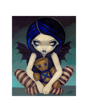 Voodoo In Blue Posters by Jasmine Becket-Griffith