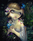 Portrait of Ophelia Láminas por Jasmine Becket-Griffith