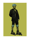 Rollerblade Print by Jason Laurits