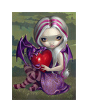 Valentine Dragon Prints by Jasmine Becket-Griffith