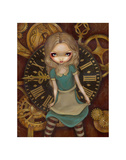 Alice and Clockworks Prints by Jasmine Becket-Griffith