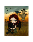 The Scarecrow Poster by Jasmine Becket-Griffith