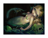 Absinthe Mermaid Poster by Jasmine Becket-Griffith