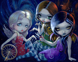 The Three Fates Plakater af Jasmine Becket-Griffith