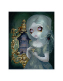 Miss Havisham Print by Jasmine Becket-Griffith