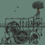 Factory Tree Prints by Jason Laurits