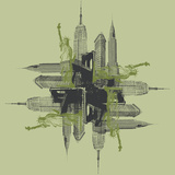 NYC Kaleidoscope Prints by Jason Laurits