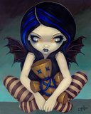 Voodoo In Blue Prints by Jasmine Becket-Griffith