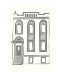 Williamsburg Building 2 (199 Maujer Street) Print by  live from bklyn