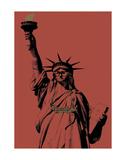 Brooklyn Liberty Print by Jason Laurits