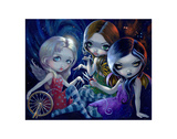 The Three Fates Plakat af Jasmine Becket-Griffith
