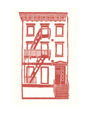 Williamsburg Building 7 (S. 4th and Driggs Ave.) Print by  live from bklyn