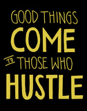 Hustle Poster by  Urban Cricket