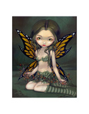 Fairy with Dried Flowers Print by Jasmine Becket-Griffith