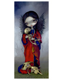 I Vampiri Angelo Della Morte Prints by Jasmine Becket-Griffith