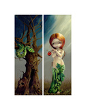 Eve and the Tree of Knowledge Prints by Jasmine Becket-Griffith