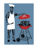 BBQ Prints by Jason Laurits