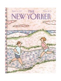 The New Yorker Cover - September 14, 1987 Premium Giclee Print by Devera Ehrenberg
