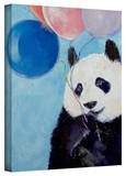 Michael Creese 'Panda Party' Gallery-Wrapped Canvas Gallery Wrapped Canvas by Michael Creese