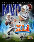 Peyton Manning - '06 SuperBowl XLI MVP Portrait Plus Photo