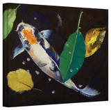 Michael Creese 'Kumonryu Koi' Gallery-Wrapped Canvas Stretched Canvas Print by Michael Creese