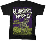 Municipal Waste - Massive Aggressive on Black T-shirts