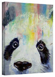 Michael Creese 'Panda Rainbow' Gallery-Wrapped Canvas Stretched Canvas Print by Michael Creese