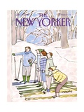 The New Yorker Cover - January 11, 1988 Premium Giclee Print by Devera Ehrenberg