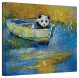 Michael Creese 'Panda Sailor' Gallery-Wrapped Canvas Gallery Wrapped Canvas by Michael Creese