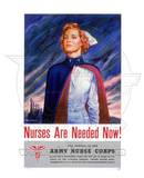 US Army Nurse Corps World War Two Photo