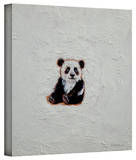Michael Creese 'Little Panda' Gallery-Wrapped Canvas Stretched Canvas Print by Michael Creese