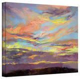 Michael Creese 'Atahualpa Sunset' Gallery-Wrapped Canvas Stretched Canvas Print by Michael Creese